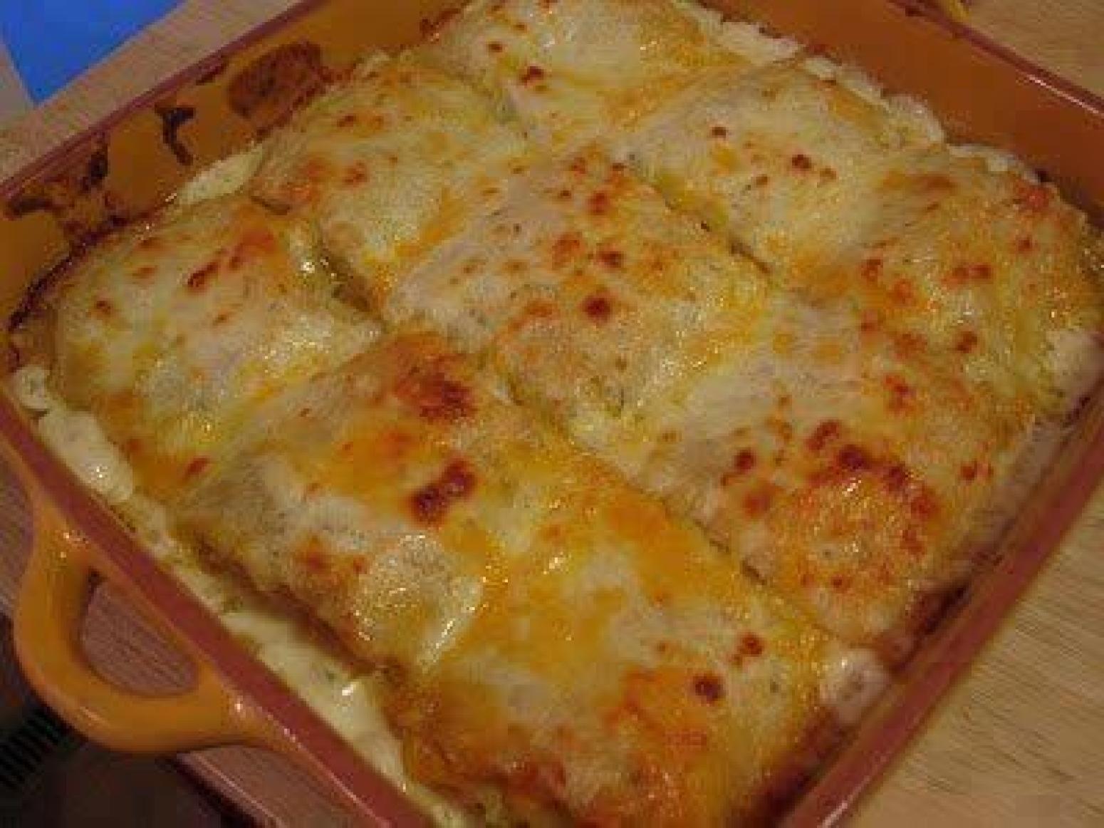 Alfredo Chicken Lasagna Recipe Just A Pinch Recipes