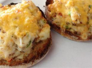Open Face Crabwich Recipe