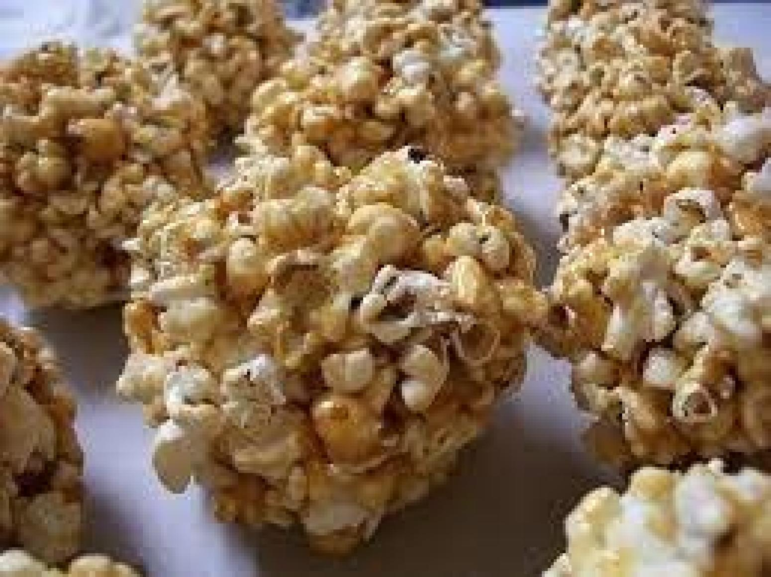 Caramel Popcorn Balls Homemade And Old Fashioned Recipe