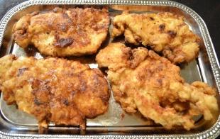 Cajun Fried Chicken Cutlet Recipe