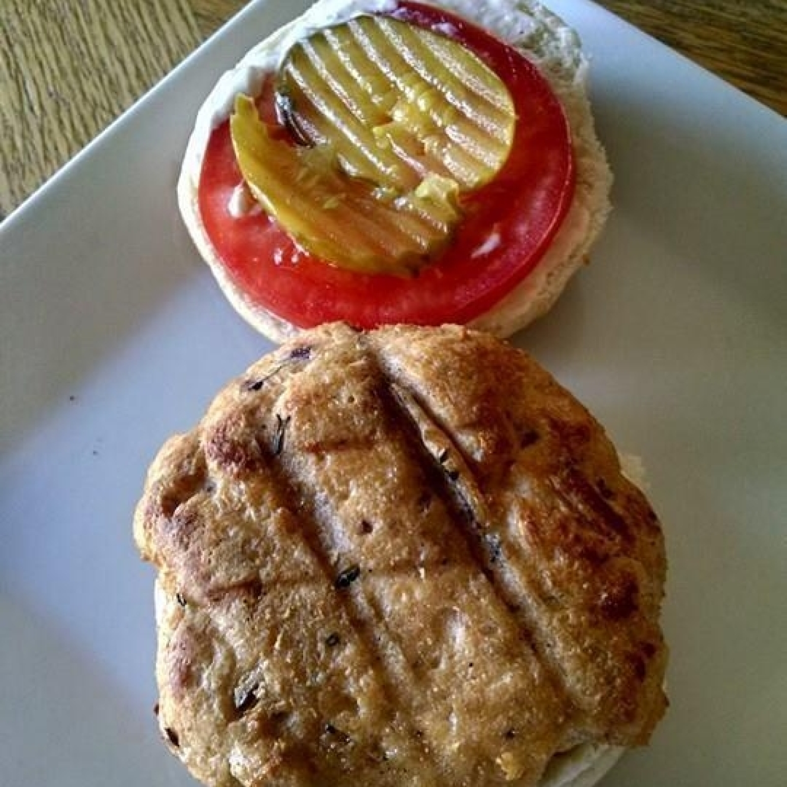 Salmon Rosemary Burgers Recipe | Just A Pinch Recipes