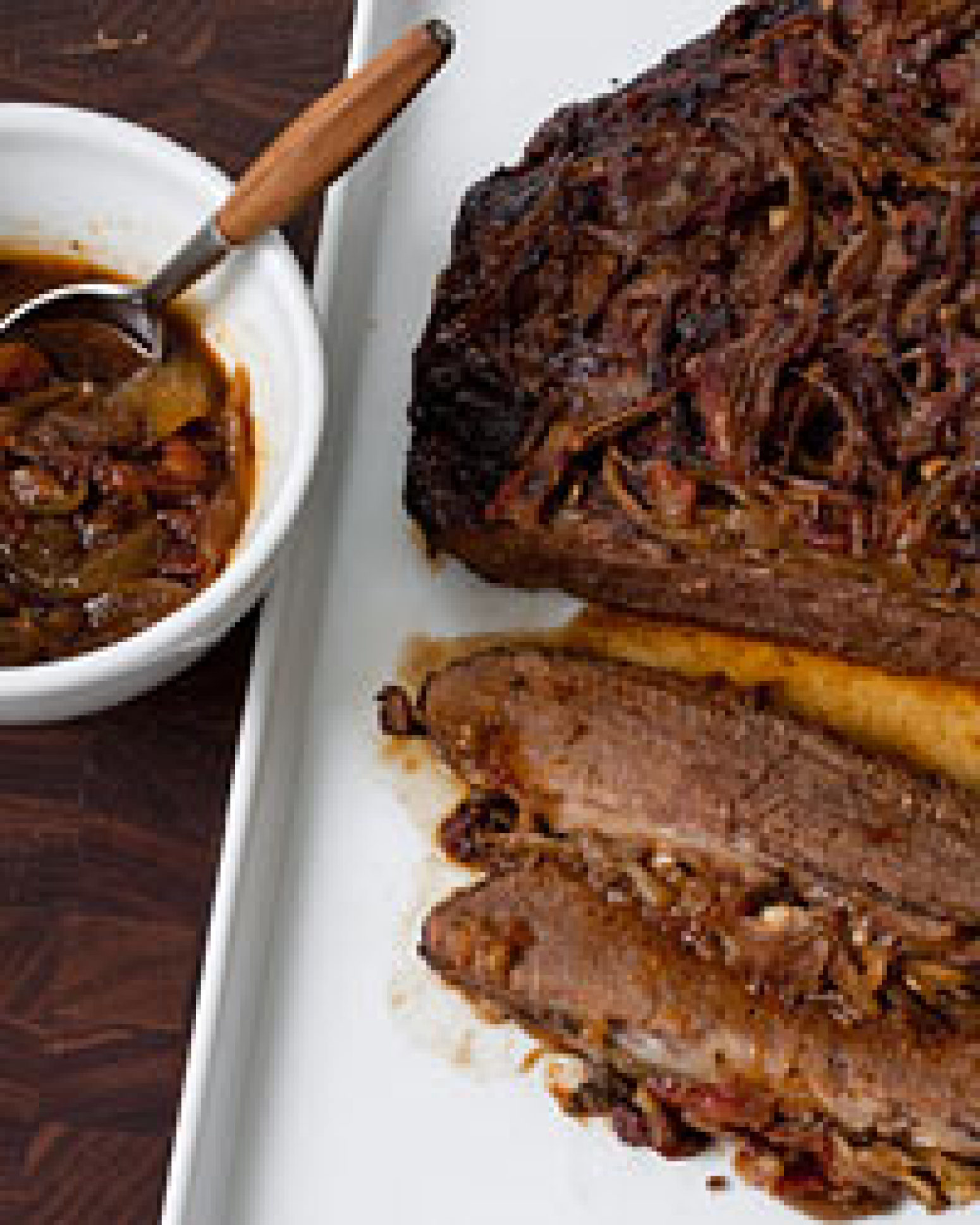 Holiday Beef Brisket with Onions Recipe | Just A Pinch Recipes
