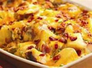 Deluxe Red Potato Bake (One Pan Meal) Recipe