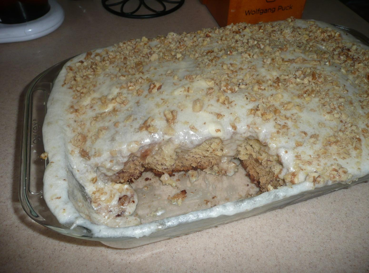 Banana Sheet Cake with Banana Frosting Recipe