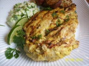 Indian Spicebox Grilled Chicken Recipe