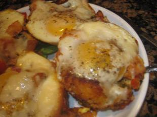 Sweet Potato Hash with Baked Eggs Recipe