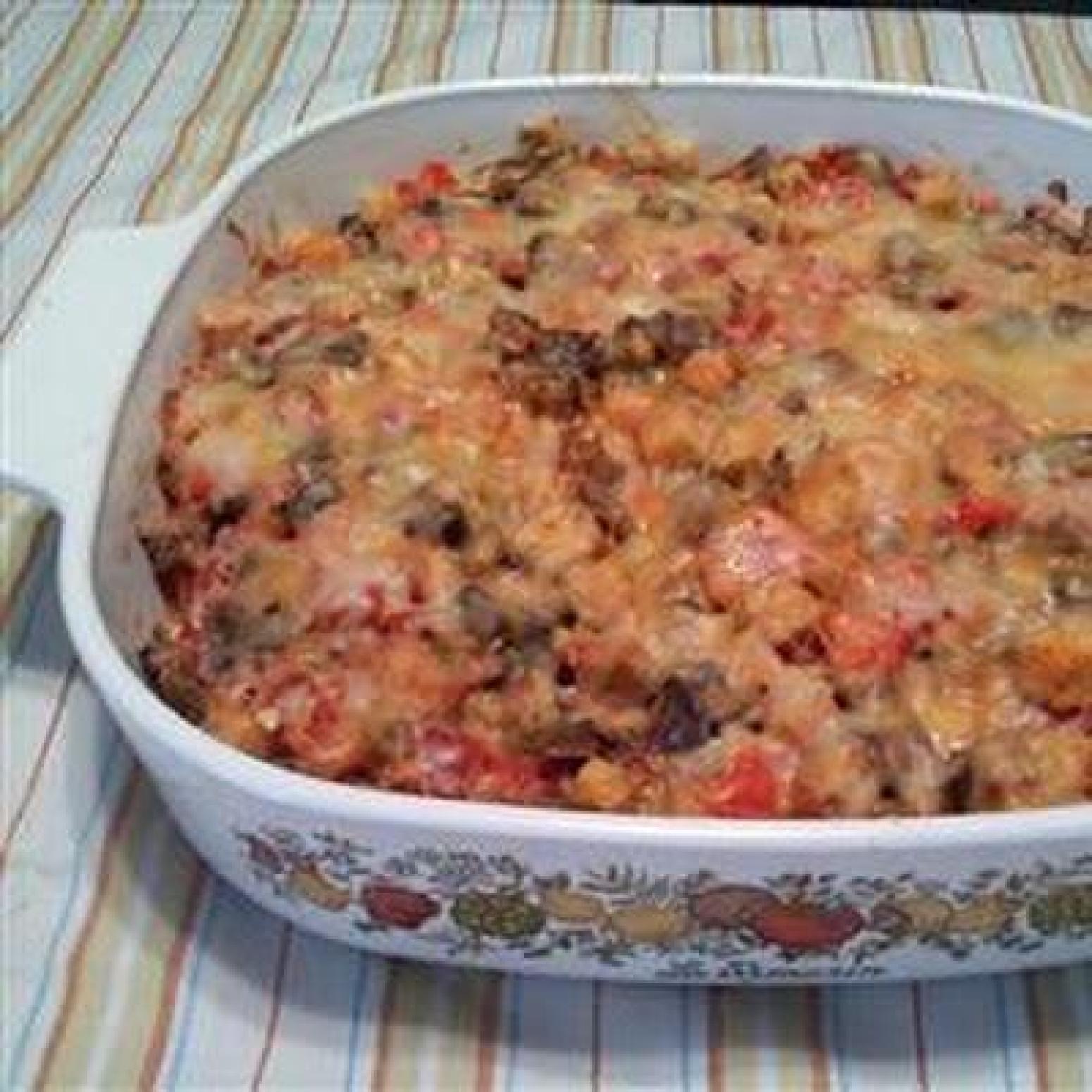 EggplantCheese Casserole Recipe   Just A Pinch Recipes