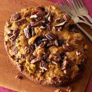 Warm Pumpkin-Blueberry Bread, Slow Cooker