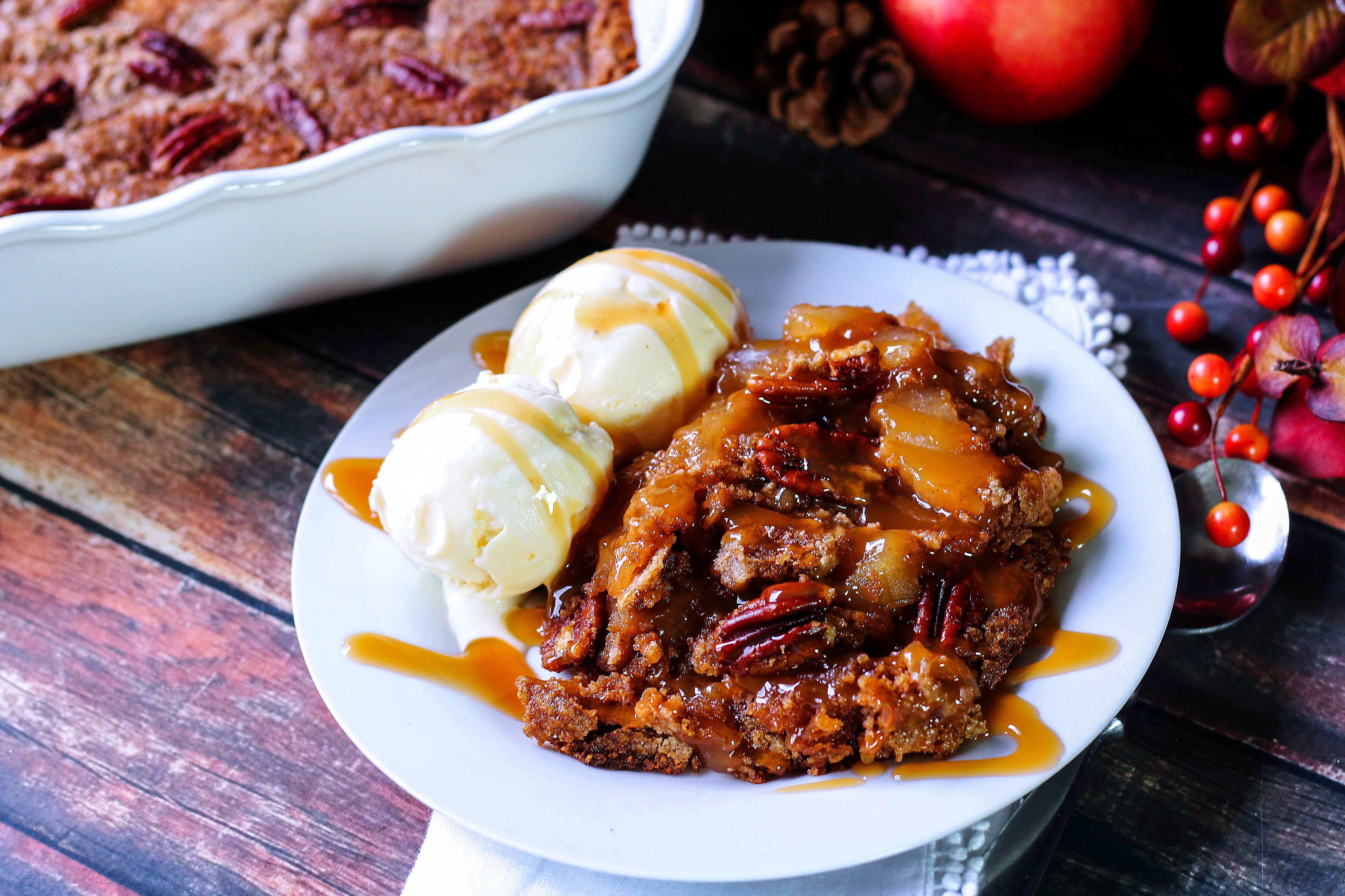Apple Butter Pecan Cake Recipe