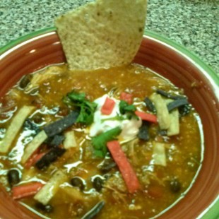 Chicken Fiesta Tortilla Soup Recipe