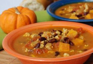 Hearty Pumpkin and Sweet Potato Soup Recipe