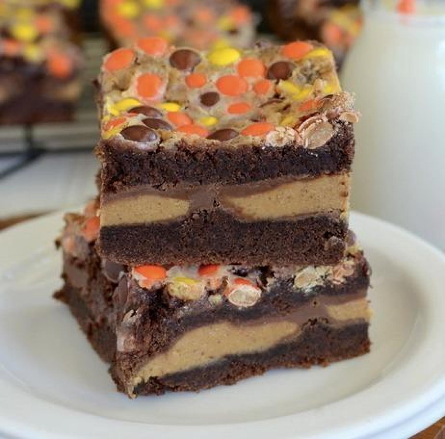 Peanut Butter Chocolate Gooey Cake Recipe