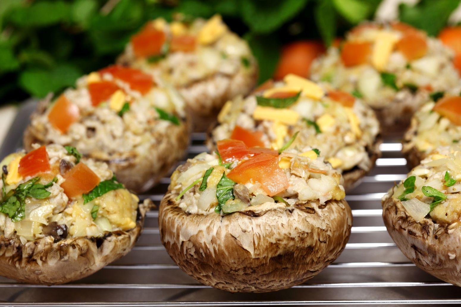 Stuffed Mushrooms, Baby Recipes — Dishmaps