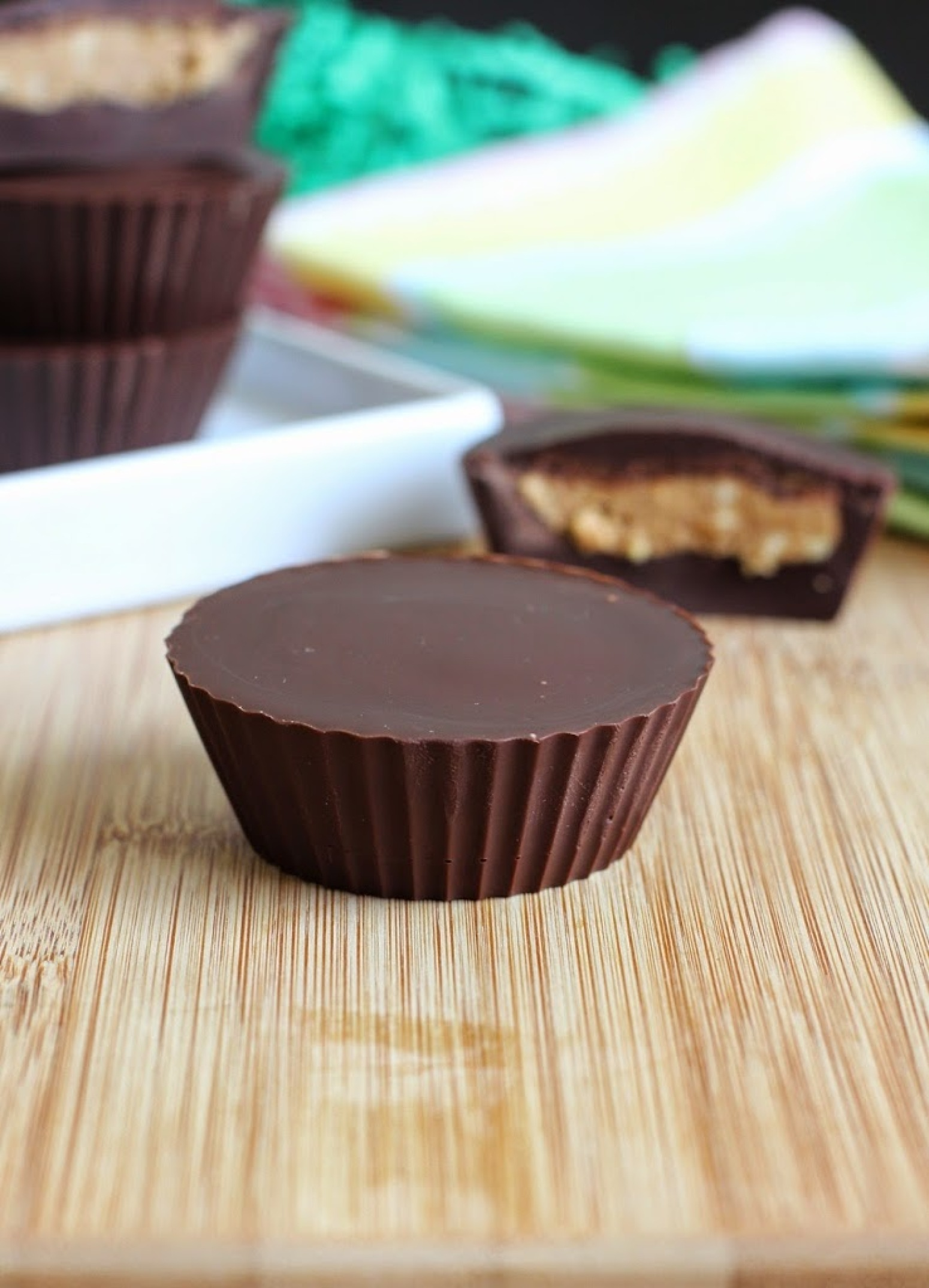 EASY 4 INGREDIENT HOMEMADE PEANUT BUTTER CUPS Recipe | Just A Pinch ...