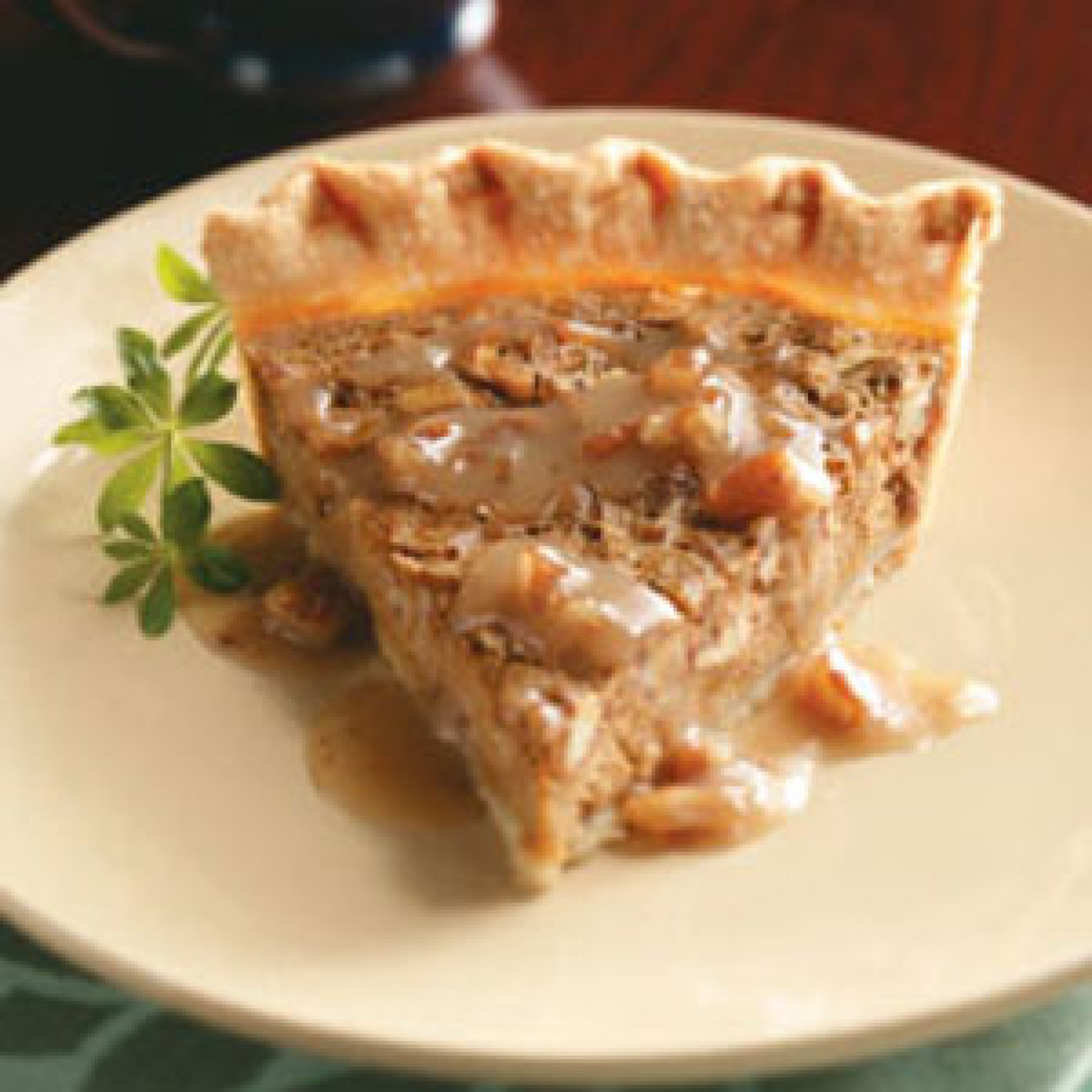 Sweet Potato Pie & Maple Praline Sauce Recipe | Just A Pinch Recipes