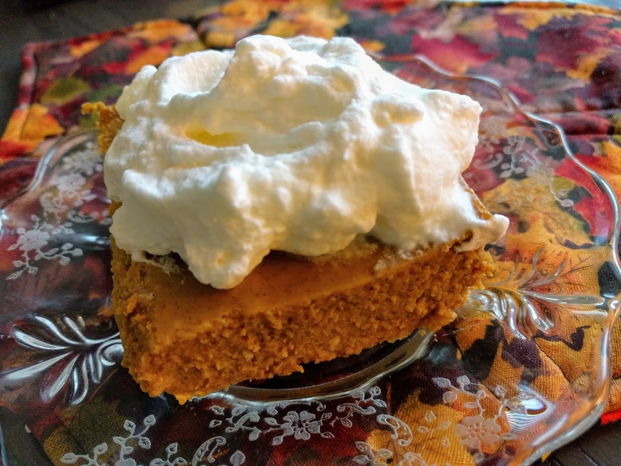 Low Carb Pumpkin Cheesecake Bars Recipe | Just A Pinch Recipes