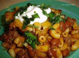 Chili Mac N beef Casserole by freda Recipe