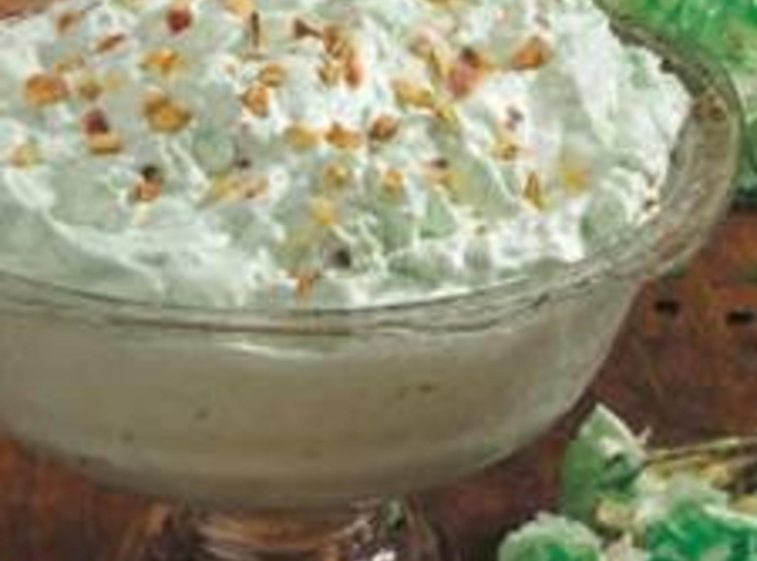 green slime (pistachio pudding salad) Recipe