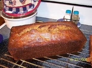 Cin made Banana Salsa Bread Recipe