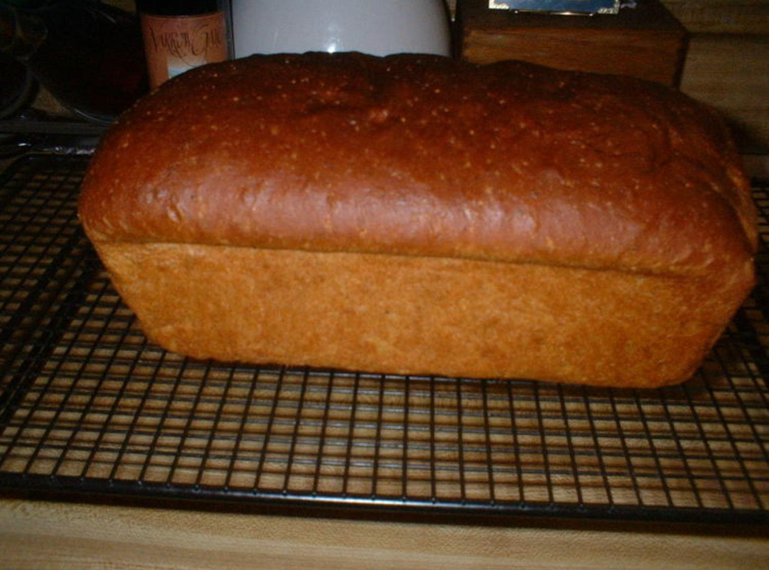 Cornmeal Molasses Bread Recipe