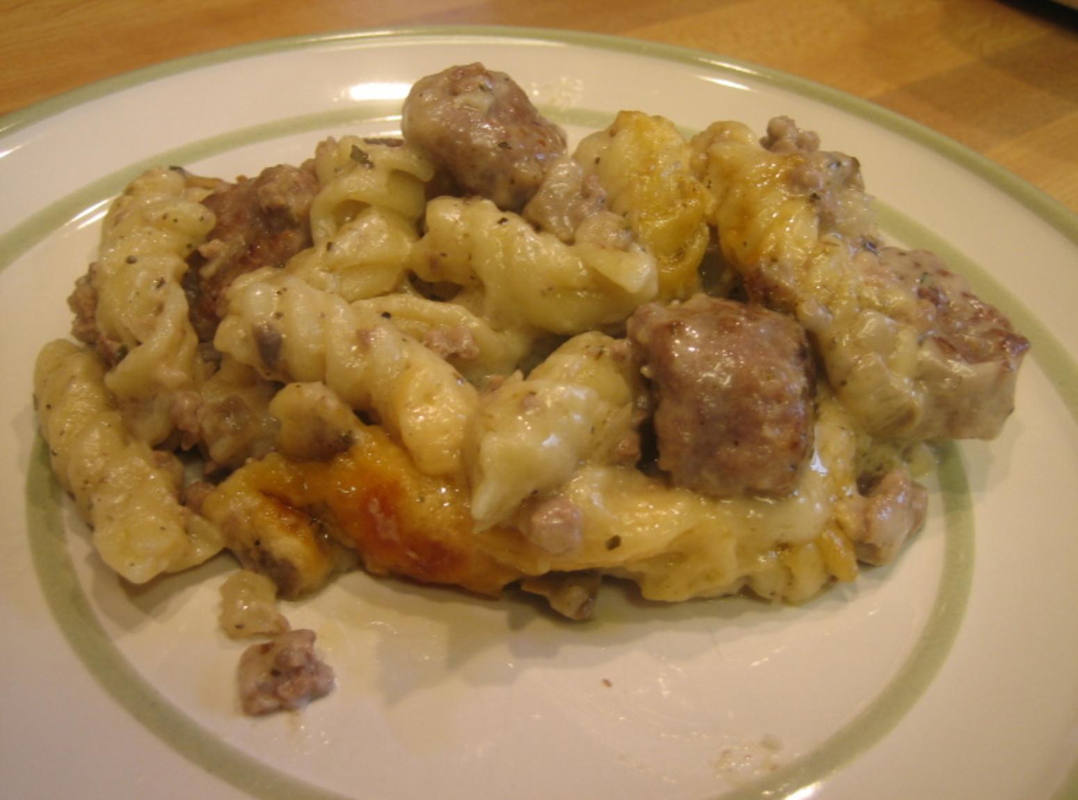 Italian Sausage Tetrazzini Recipe