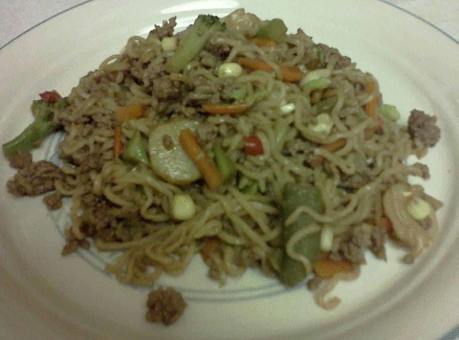 Oriental Beef Noodle Toss Recipe