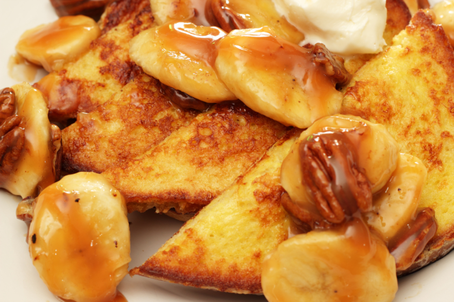 Caramelized Banana & Pecan French Toast Recipe | Just A ...