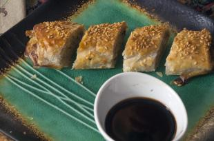 Awesome Sesame Pork Roll Appetizers Recipe