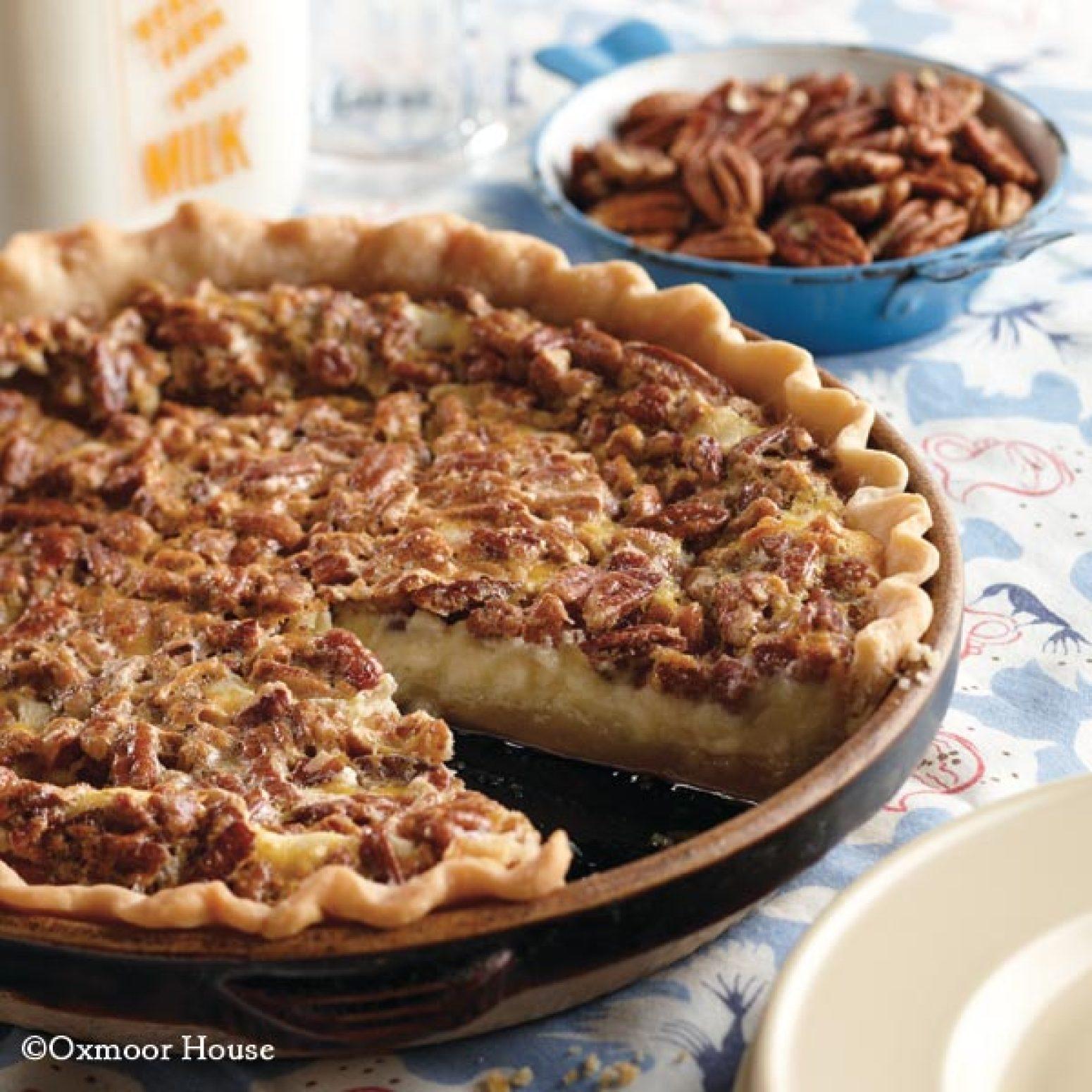 Pecan Cheesecake Pie Recipe 6 | Just A Pinch Recipes