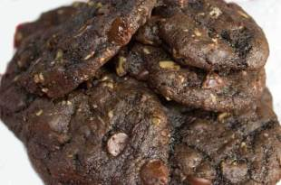Double Chocolate-Gluten Free Oatmeal Cookies Recipe