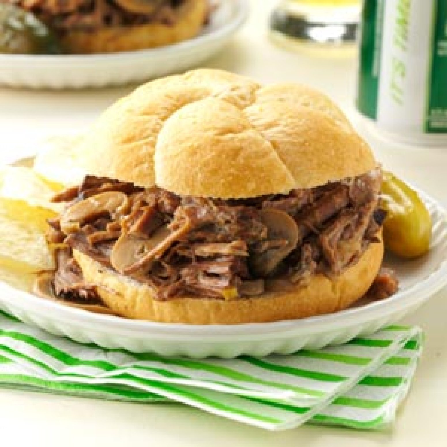 Simply Delicious Roast Beef Sandwiches Recipe | Just A ...