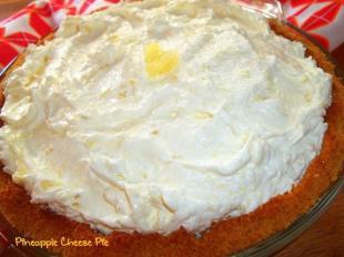 Pineapple Cheese Pie ~ Easy Recipe