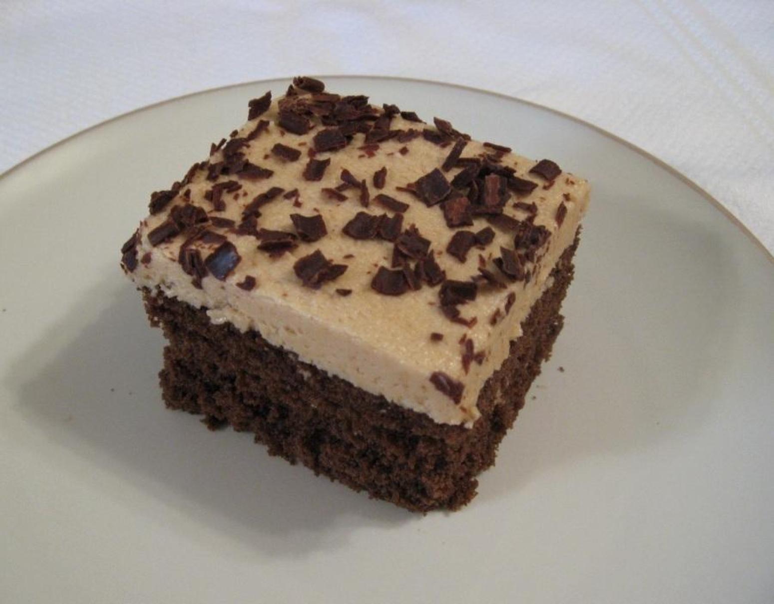Cake Icing Recipe Peanut Butter: Chocolate Cake With Peanut Butter Frosting Recipe