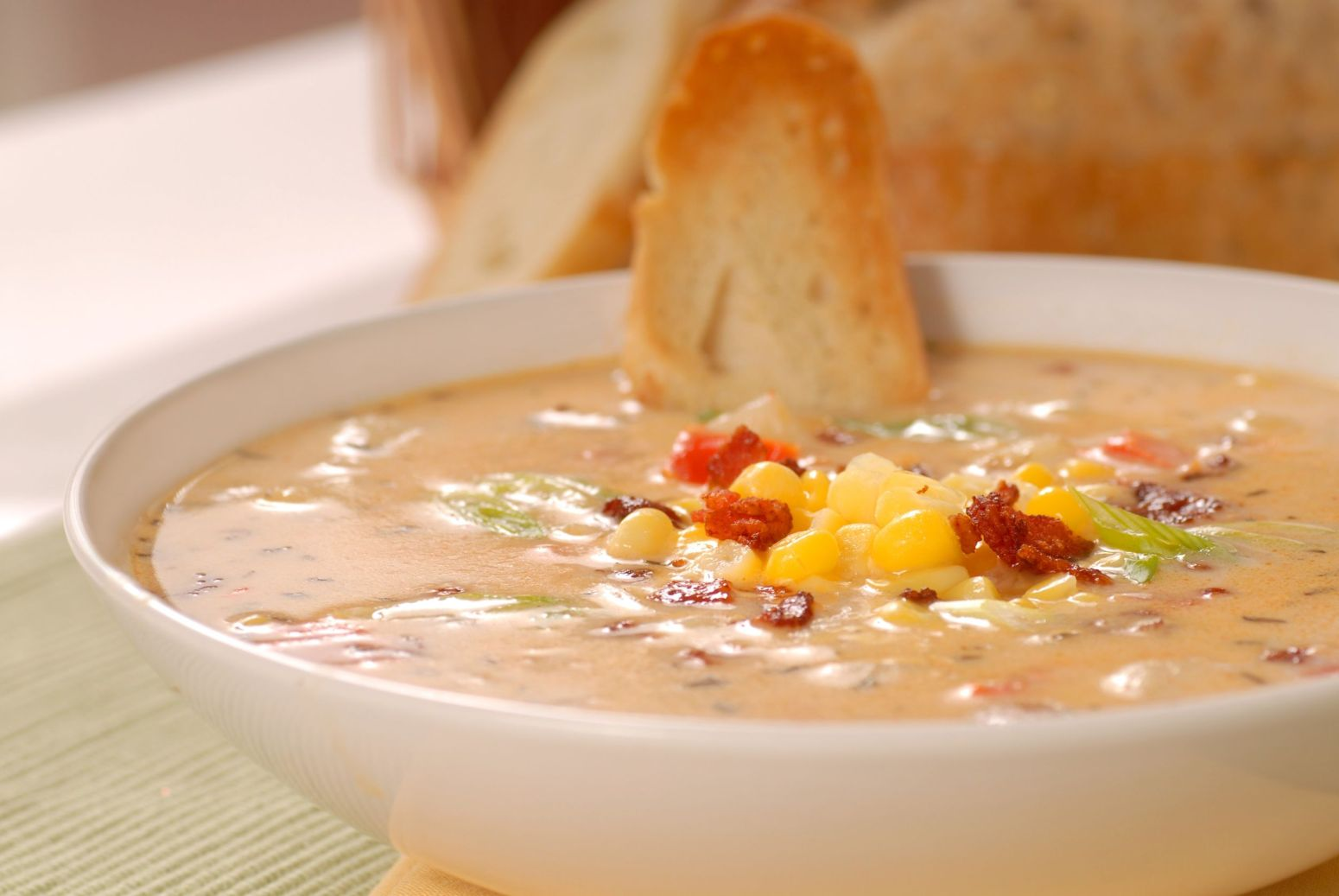 Bacon Chili Corn Chowder Recipe | Just A Pinch Recipes