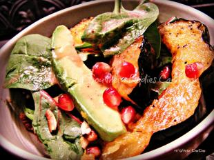 Holiday Salad with Pomegranate Ginger Vinaigrette Recipe