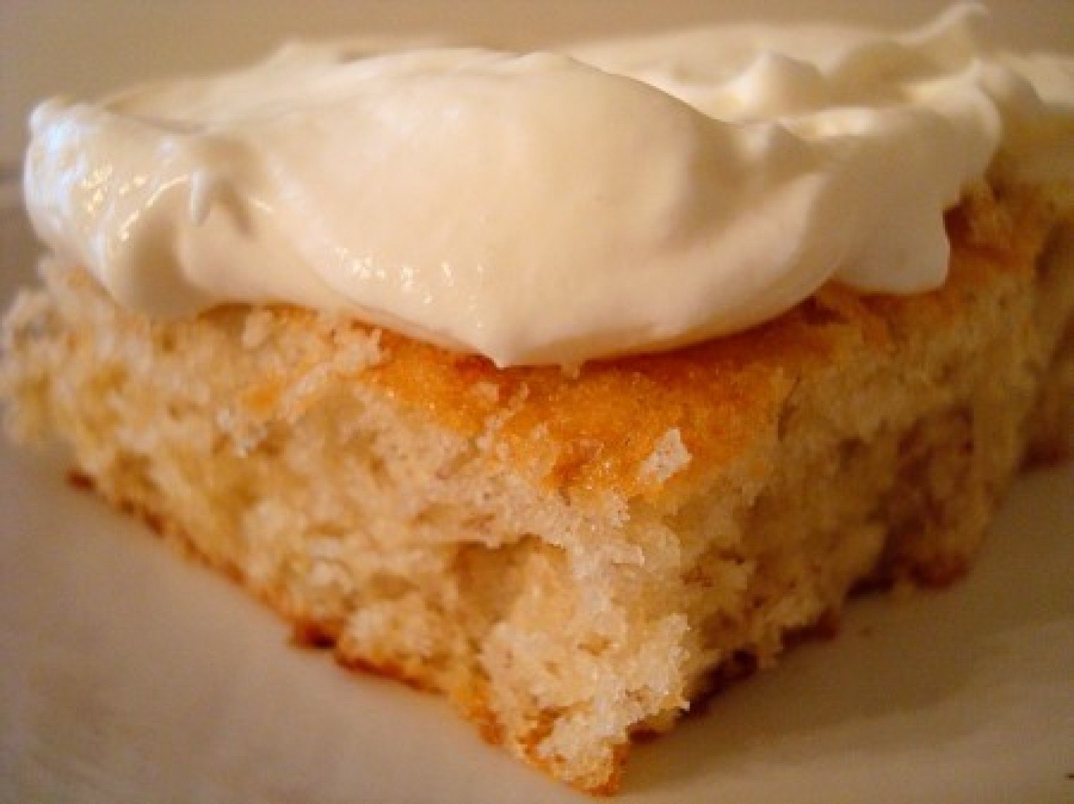 Banana Bars with Whipped Cream Cheese Frosting Recipe | Just A Pinch ...