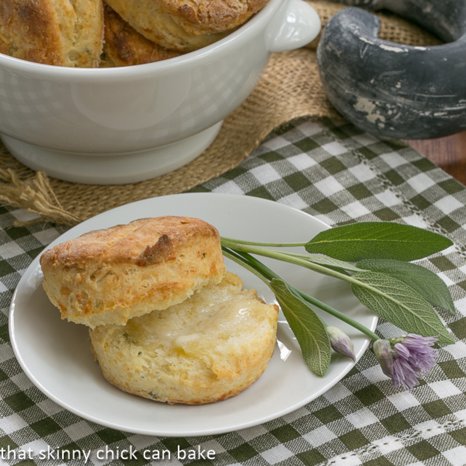 Herbed Buttermilk Biscuits #TwelveLoaves Recipe | Just A Pinch Recipes