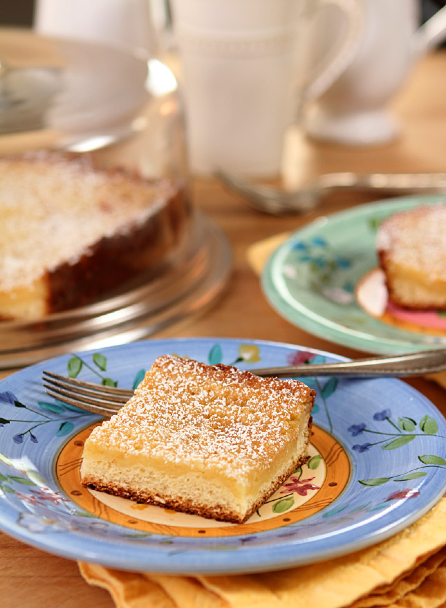Real St. Louis Gooey Butter Cake Recipe | Just A Pinch Recipes