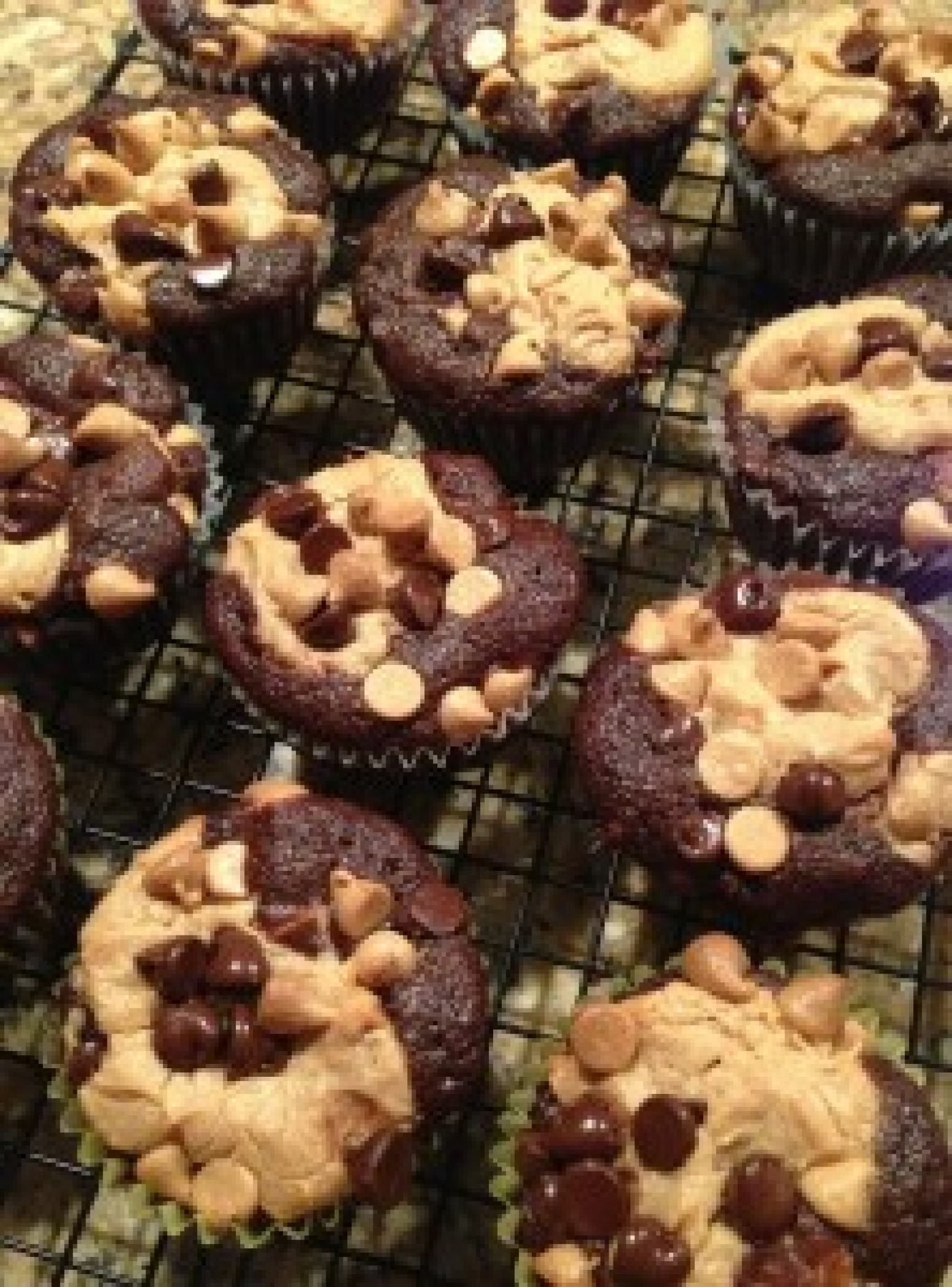 Chocolate Peanut Butter Layered Cupcakes Recipe 5 | Just A Pinch ...