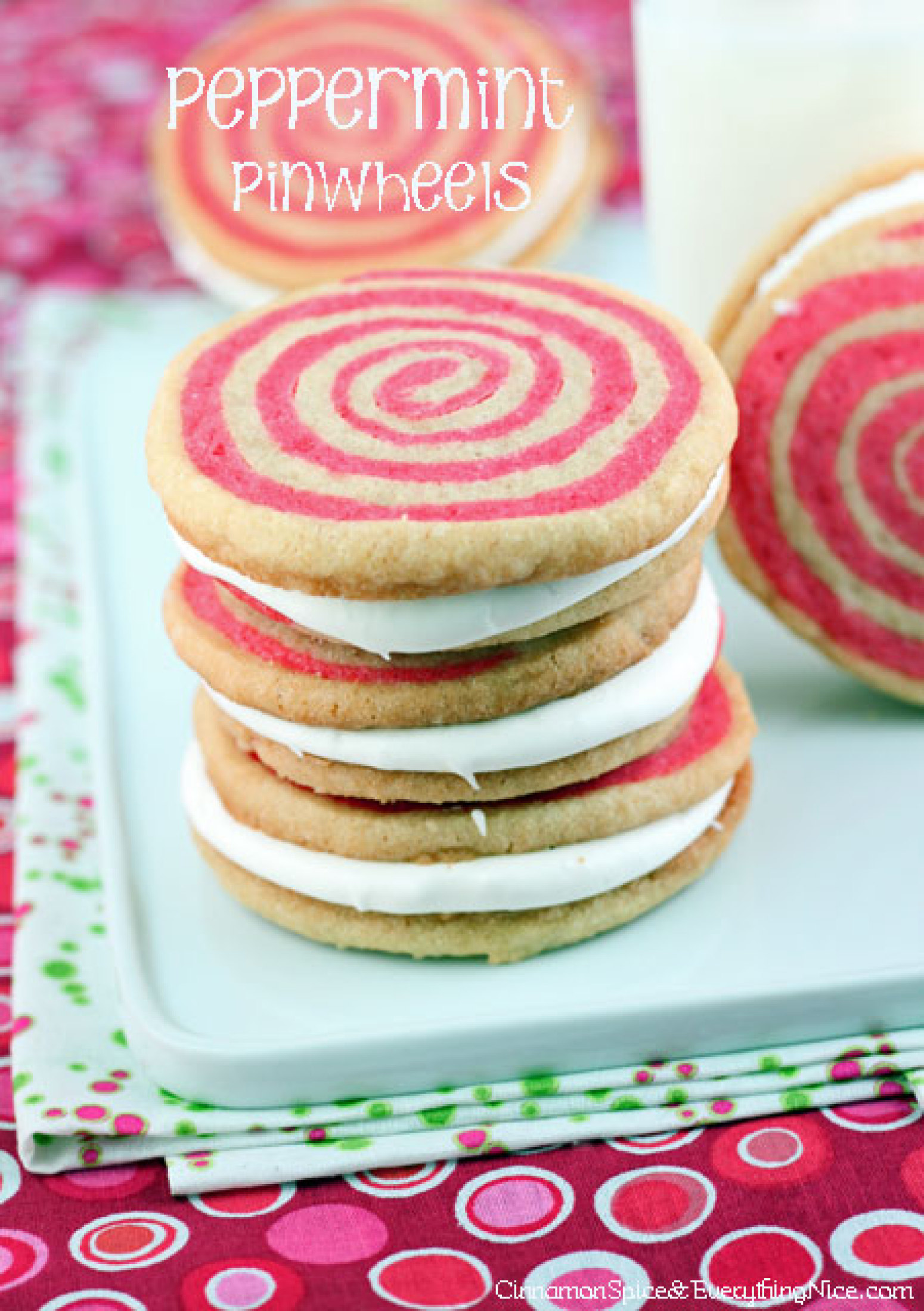 Peppermint Pinwheels Recipe 3 | Just A Pinch Recipes