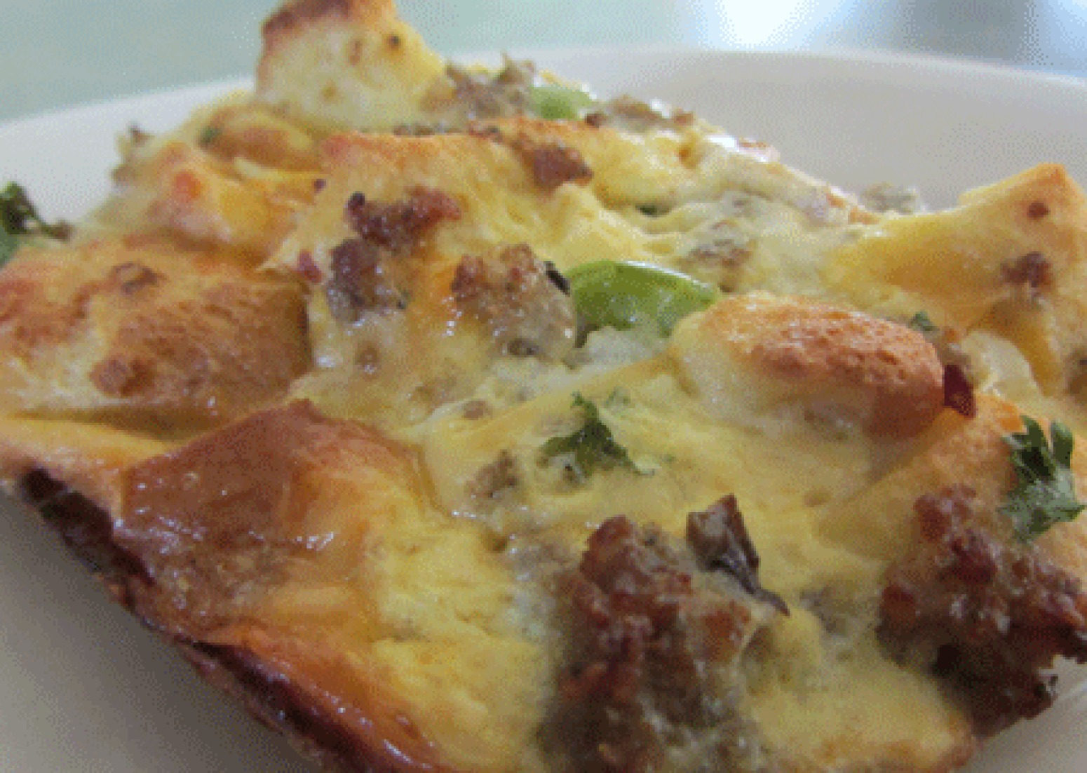 Southwestern Sausage & Egg Breakfast Casserole Recipe | Just A Pinch ...
