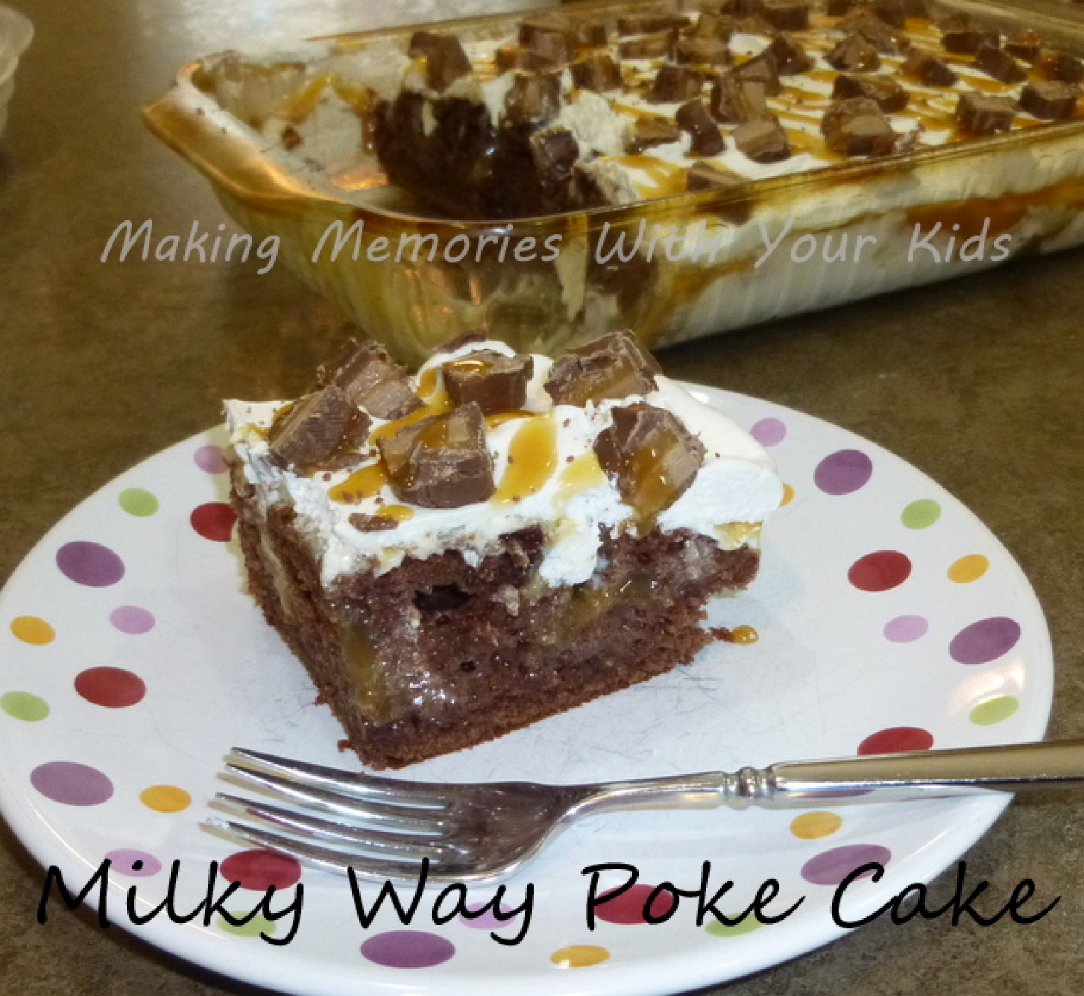 Milky Way Cake With Box Mix