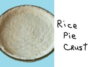 Rice Crust for casseroles! Recipe