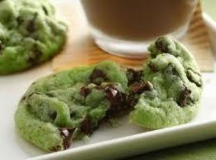 SOFT MINT CHOCOLATE CHIP COOKIES