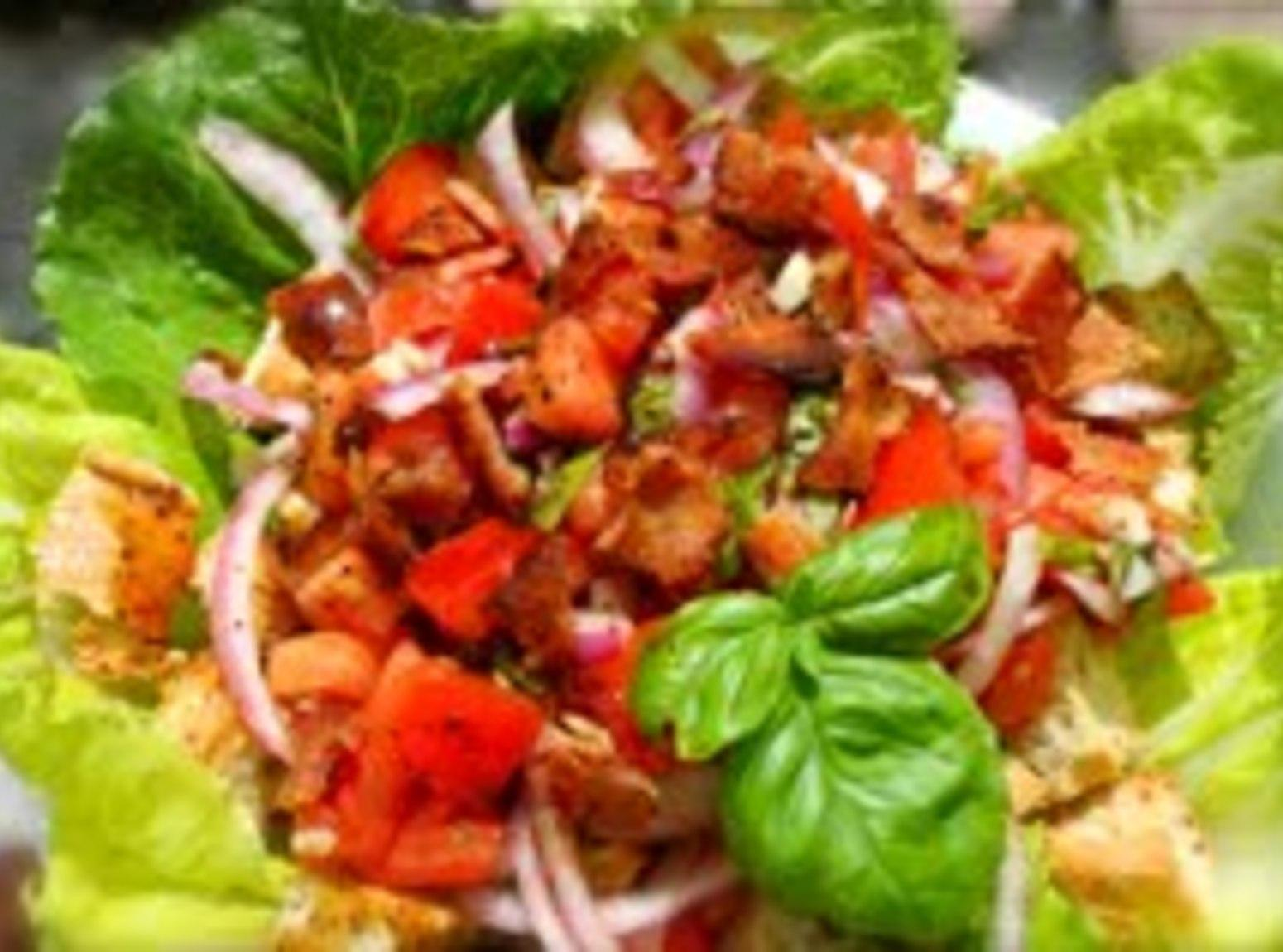 BLT Panzanella by Alton Brown Recipe