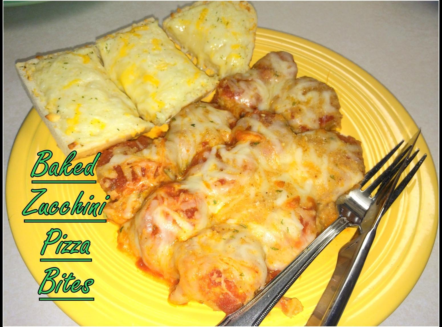 Baked Zucchini Pizza Bites Recipe   Just A Pinch Recipes