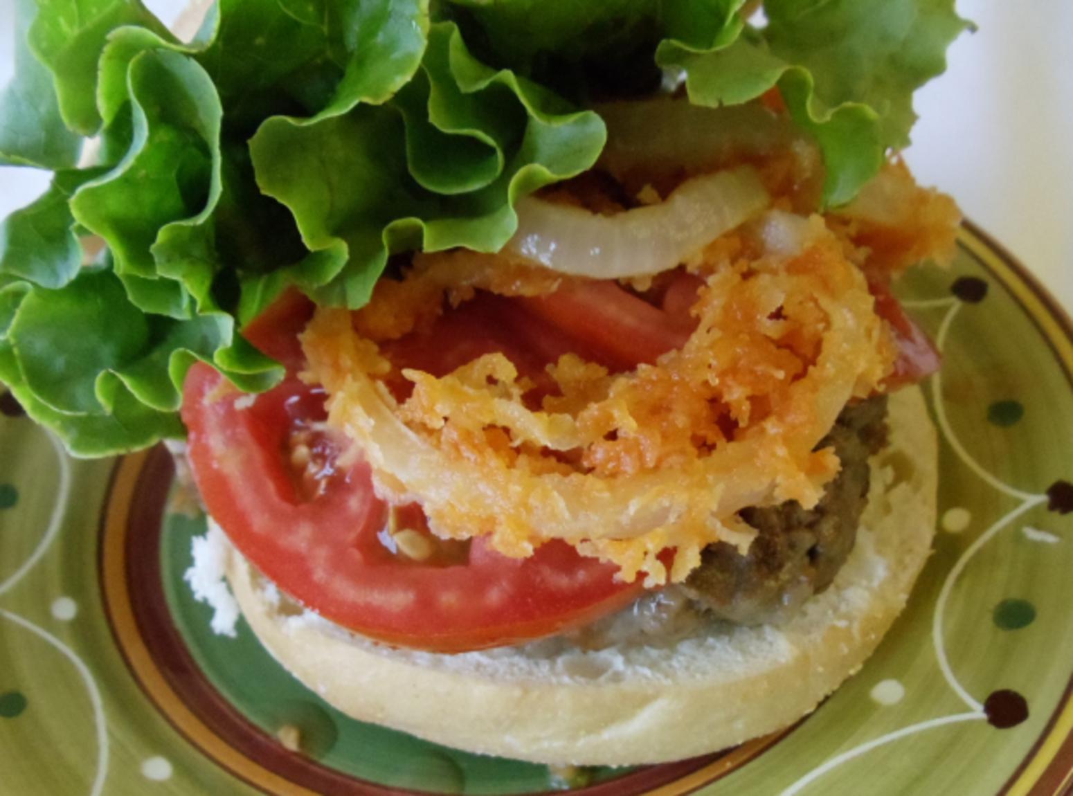 Ring O Fire Burger Recipe
