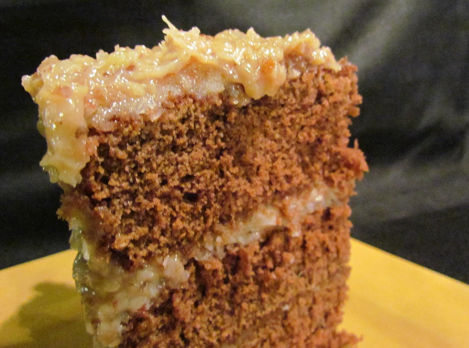 German Chocolate Scratch Cake Recipe