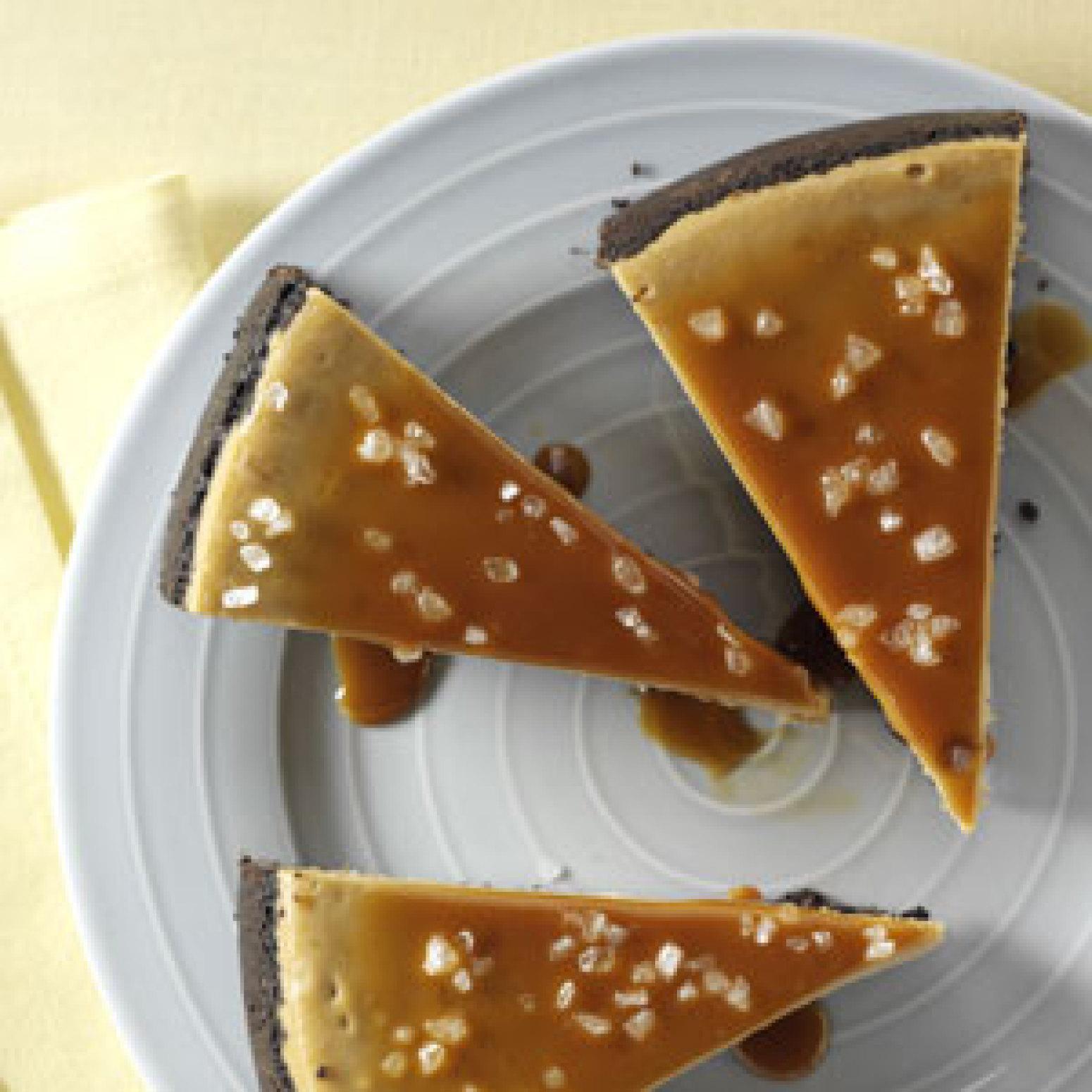 Caramel Cappuccino Cheesecake Recipe — Dishmaps