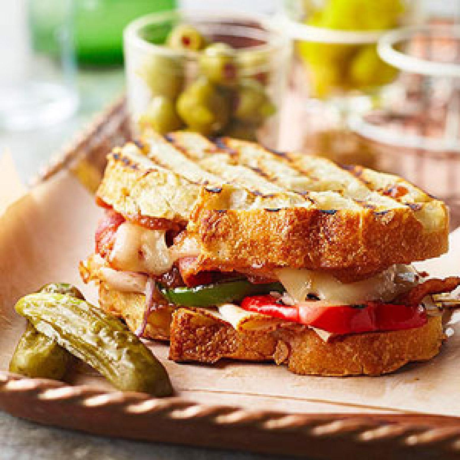 Applejack Turkey Sandwich Recipe